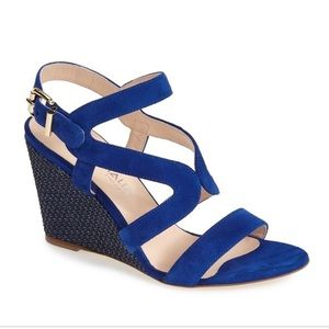 Aquatalia Wedge Sandals 💙